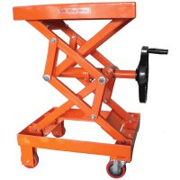 Table élévatrice à manivelle 200 kg